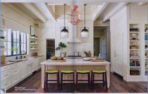 kitchen-cabinets-in-dawsonville-ga-cream-kitchen-blush-island-lime-seat cushions