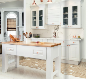 white-kitchen-cabinets-island-Dawsonville-ga